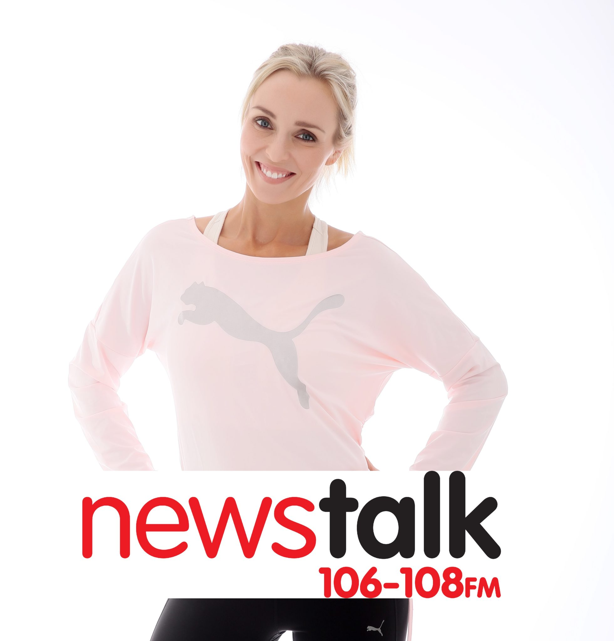"""Siobhan Byrne on News Talk with Adrian Kennedy """"Top tips for getting Fit"""""""